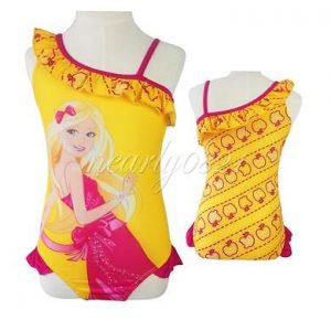 Girls-Toddlers-Swimsuit-Swimwear-Barbie-Princess-Bathers-Bathing