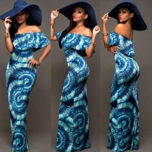 abstract-blue-print-dress