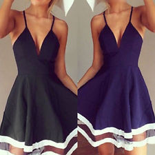 Beautiful sleeveless mesh chiffon short mini dress