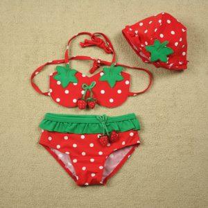 Infant Baby girl watermen 3pc swimsuit