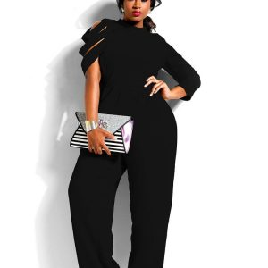 Jumpsuit Plus size black
