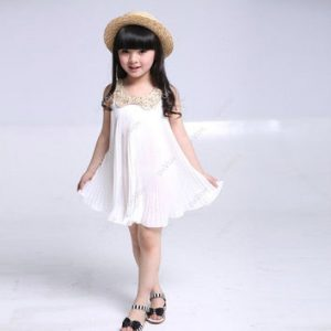 Little Girls lacey sequin dress