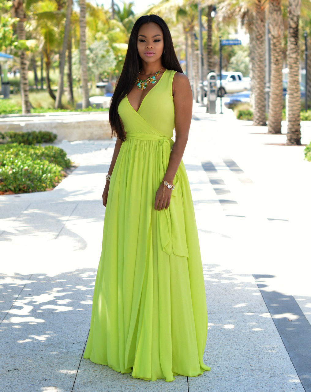 STUNNING FREE FLOWING MAXI DRESS | ADDICTED2FASHION