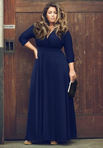 d80f02afe64 STUNNING PLUS SIZE BOHO PLUNGING NECK MAXI DRESS