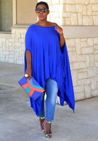 Sporty Bat Sleeve Asymmetrical Hem Loose Dress Top Addicted2fashion