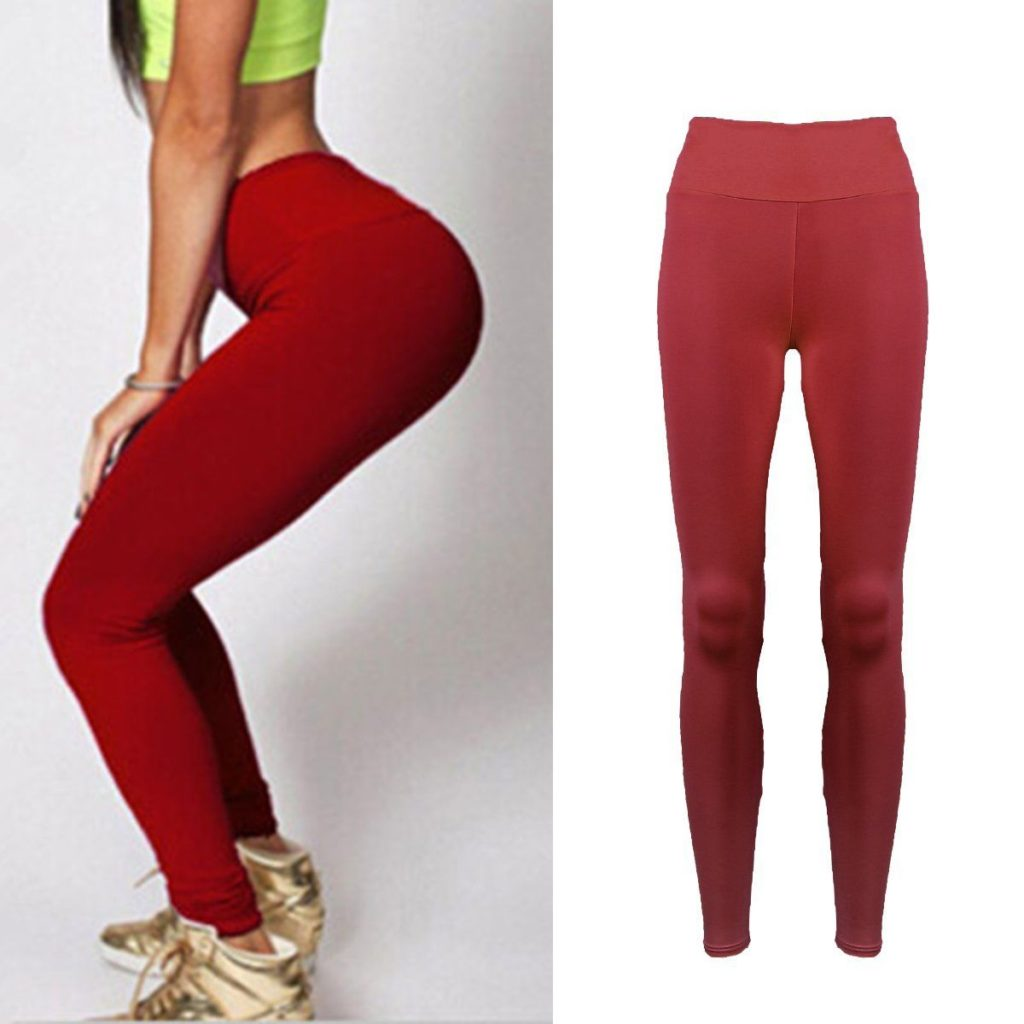 5dd4785d43d74 red-thick-leggings | ADDICTED2FASHION