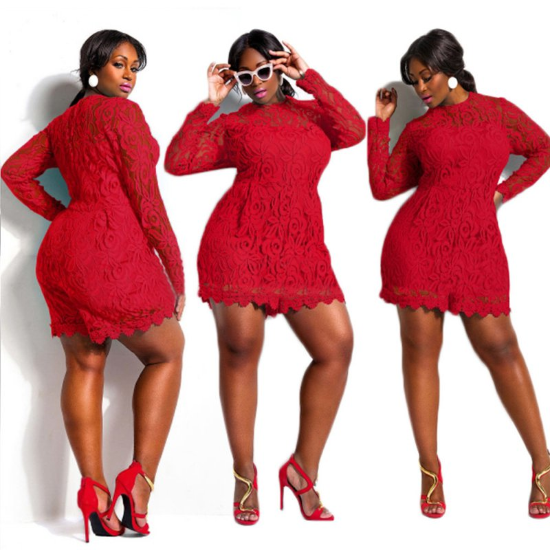 7d97bce7a5d ... PLUS SIZE CROCHET LACE ROMPER Return to Previous Page. New. Out. of  stock. lightbox