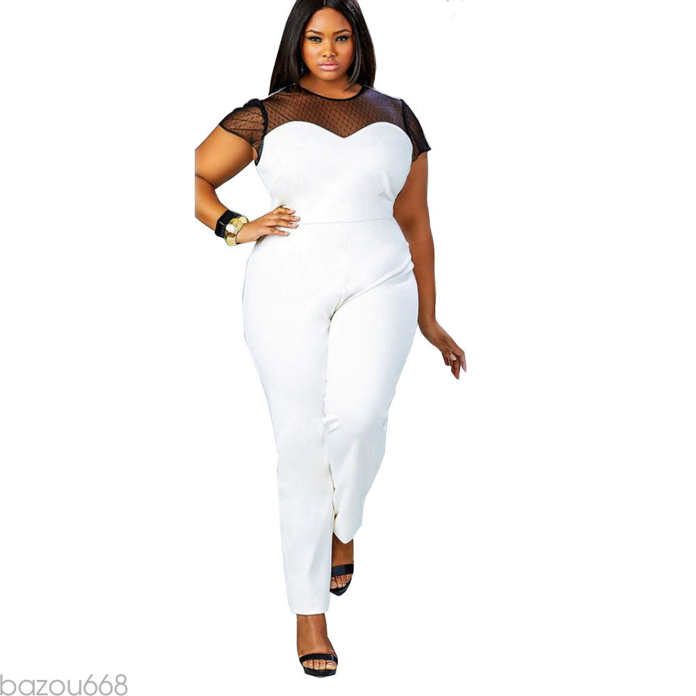 71a108d170e ... PLUS SIZE SHEER DETAIL TOP JUMPSUIT Return to Previous Page. New.  lightbox