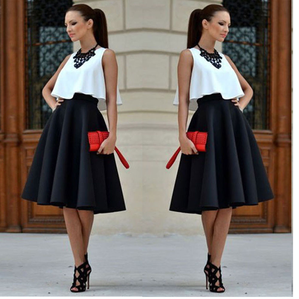 How to skater wear skirt plus size