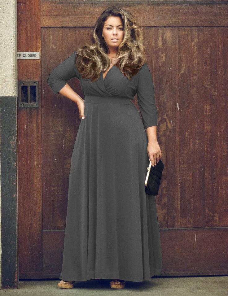 Stunning Plus Size Boho Maxi Dress Addicted2fashion