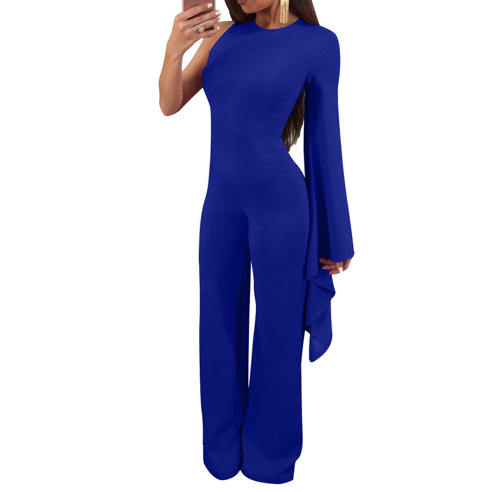 8bd324b4bed ... COLD SHOULDER DOLMAN FLARE SLEEVE JUMPSUIT Return to Previous Page.  New. lightbox