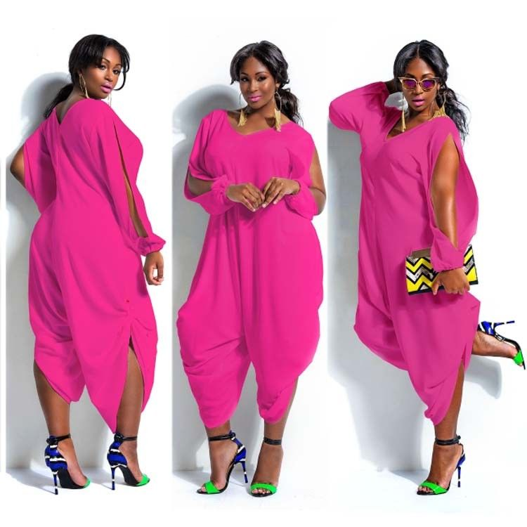 6dbcf738a7e8 ... PLUS SIZE SLIT SLEEVE DETAIL JUMPSUIT Return to Previous Page. lightbox