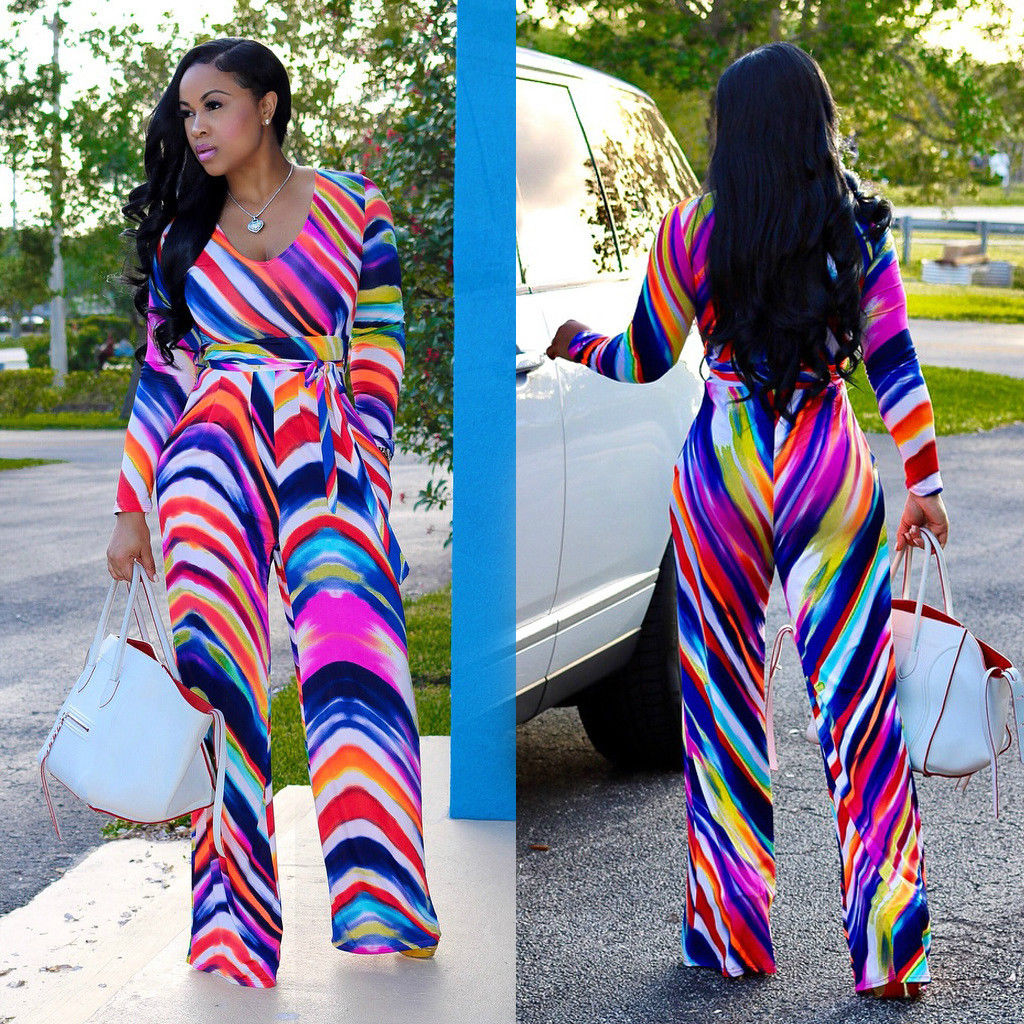 54dd0327319 ... COLOR CHEVRON PRINT WIDE LEG JUMPSUIT Return to Previous Page. New.  lightbox