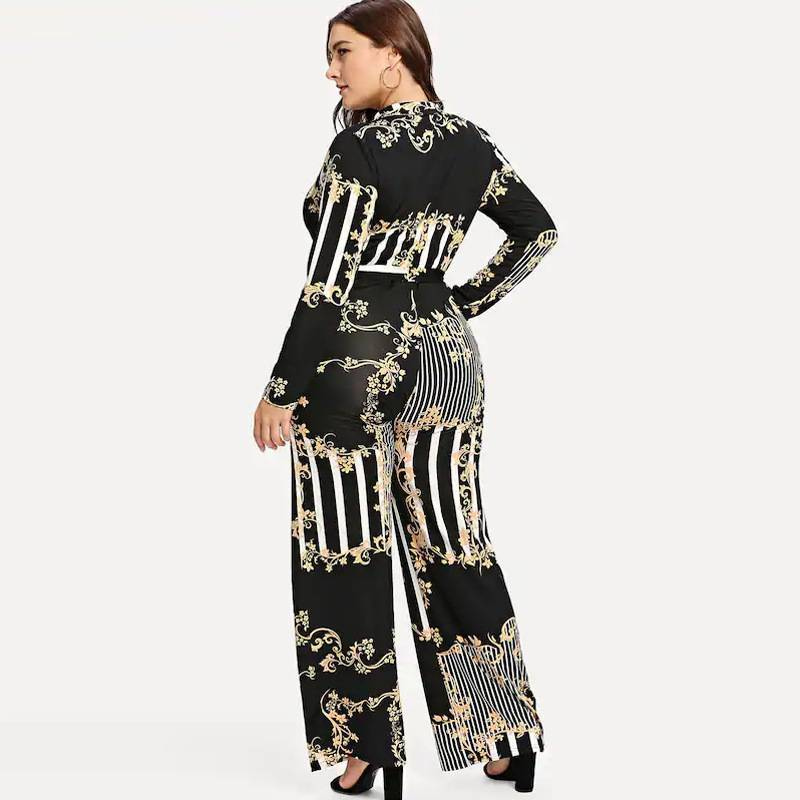 58833236d7b ... PLUS SIZE FLORAL PRINT W BELT JUMPSUIT Return to Previous Page. New.  lightbox · lightbox · lightbox · lightbox · lightbox
